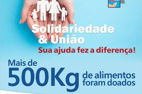 """Campanha Solidária – Resultado da """"Vaquinha"""" Online"""