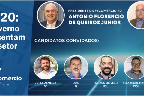 Eleições 2020: Candidatos ao governo de Três Rios apresentam propostas para o setor do Comércio
