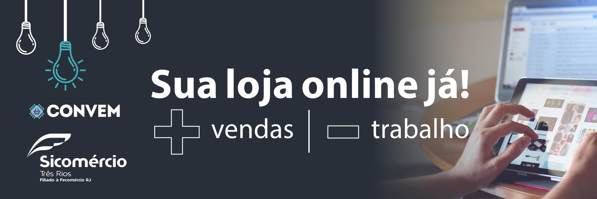 Sua loja online ja