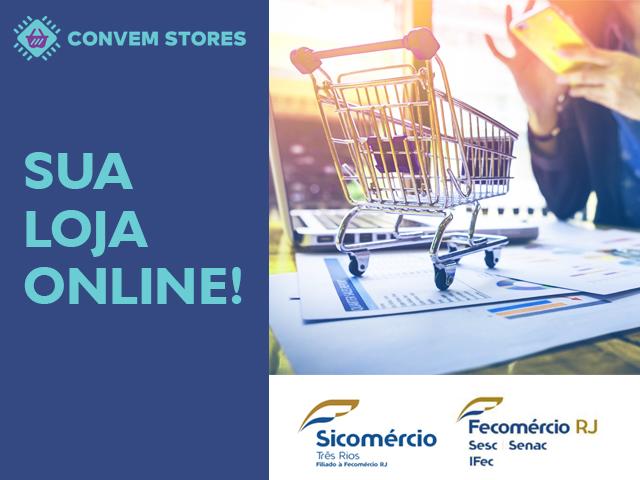 Sua loja online já