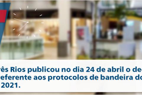 Prefeitura de Três Rios publica novo decreto sobre o coronavírus